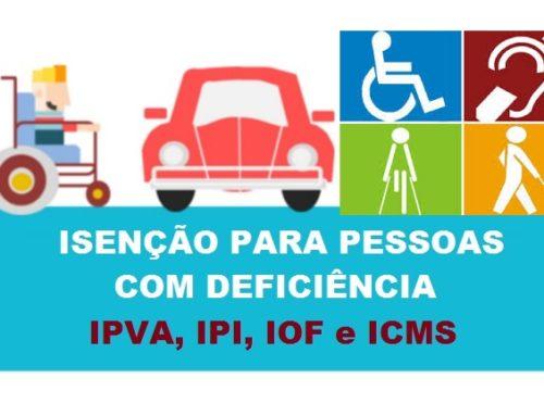 Receita Federal Regulamenta o Processo Automatizado de Concessão de Isenção de IPI e IOF Para Deficientes